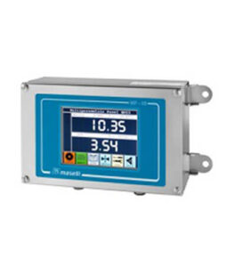 MP01 control panel in-line analyzers