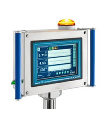 control panel in-line analyzers